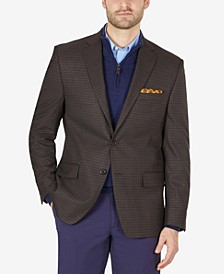 Men's Classic-Fit Ultraflex Stretch Patterned Blazer