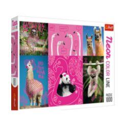 Trefl Jigsaw Puzzle Crazy Animals, 1000 Pieces