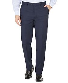 Men's UltraFlex Classic-Fit Wool Suit Pants