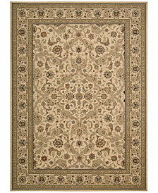 "kathy ireland Home Lumiere Royal Countryside Beige 9'6"" x 13' Area Rug"