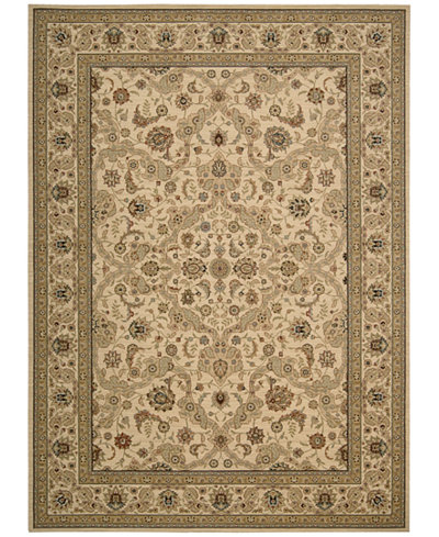 Kathy Ireland Home Lumiere Royal Countryside Beige Area Rug