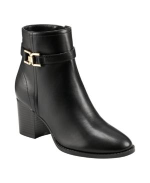 Women's Dani Block Heel Booties Women's Shoes