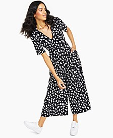 Brush Breeze Open-Back Jumpsuit, Created for Macy's