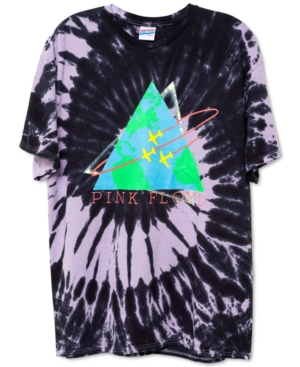 Cotton Pink Floyd Tie-Dyed T-Shirt