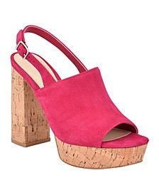 Women's Caleesi Platform Cork Sandal