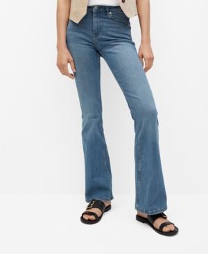 Women's High-Waist Flared Jeans