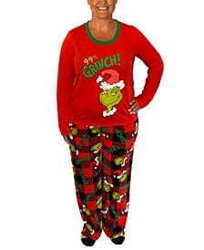 Matching Women's Grinch Family Pajama Set