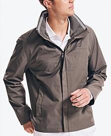 Men's Hooded Bomber-Style Jacket