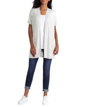 Women's Short Sleeve Knit Cardigan