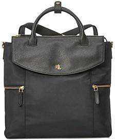 Convertible Small Nylon Backpack