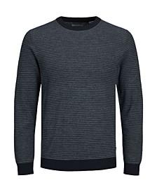 Stretch Structured Stripe Sweater