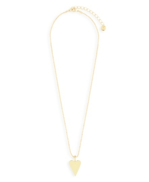 Cameron 14K Gold Plated Heart Charm Pendant Necklace