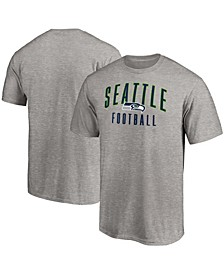 Men's Heathered Gray Seattle Seahawks Game Legend T-shirt