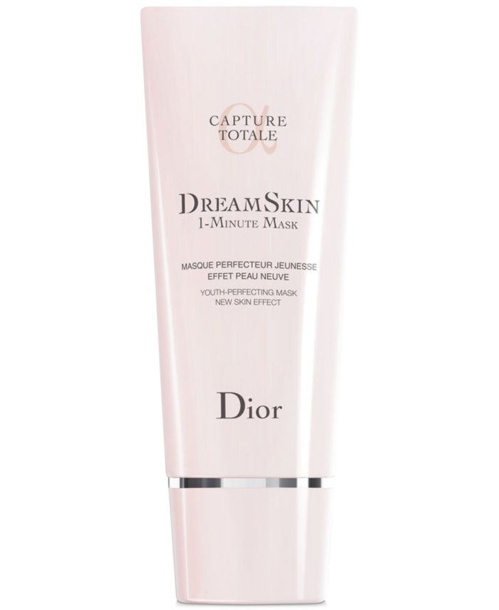 Dior Capture Dreamskin - 1-Minute Mask - Youth-Perfecting Mask - New Skin Effect ,2.7-oz. & Reviews - Skin Care - Beauty - Macy's