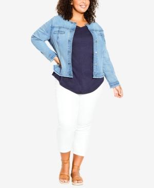 Plus Size Deenie Jacket