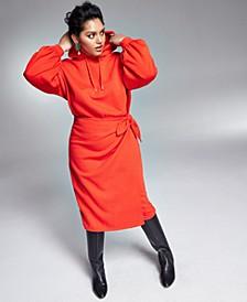 Zerina Akers Hoodie Wrap Dress, Created for Macy's