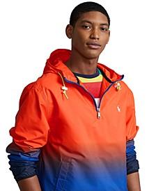 Men's Logo Ombré Pullover Jacket