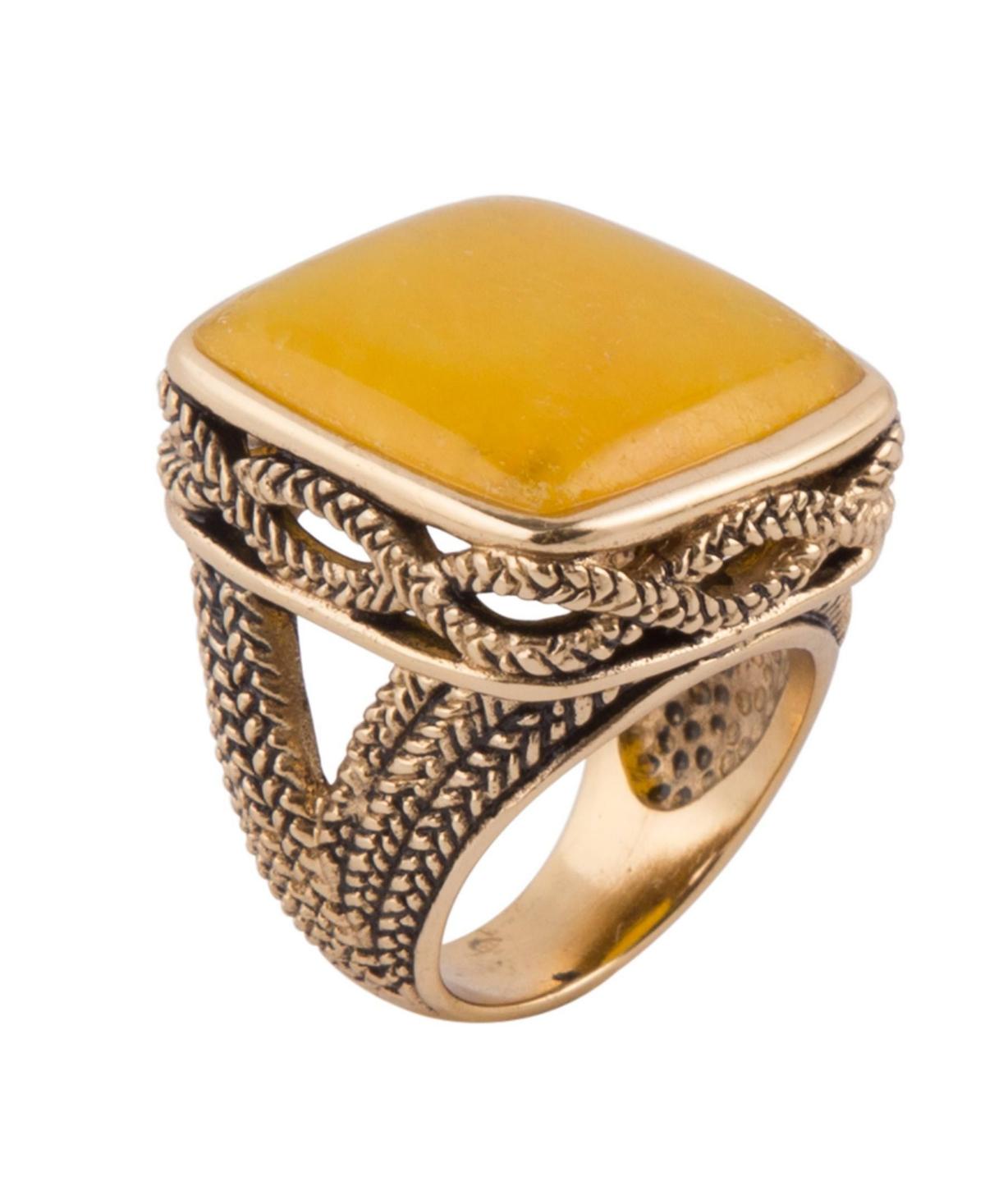 Barse Sunny Statement Ring