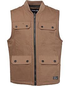 Men's Zip-Front Field Worker Vest