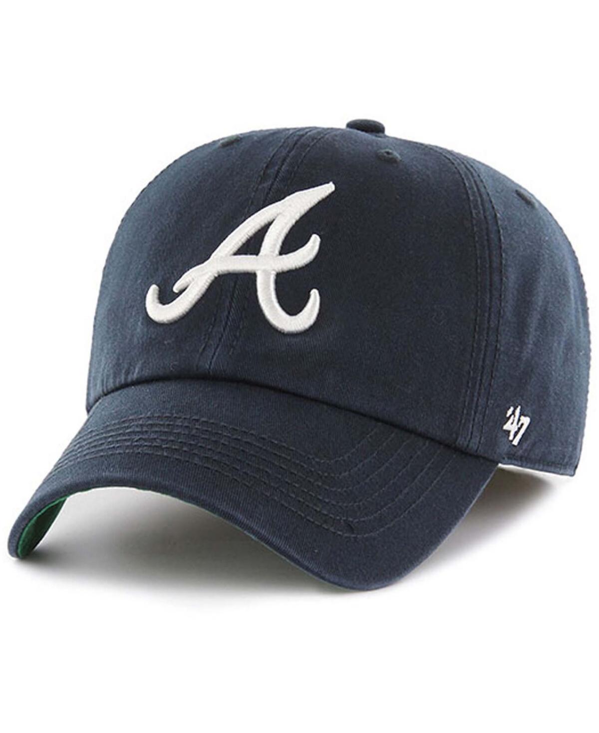 47 Brand Atlanta Braves Road Team Franchise Fitted Cap