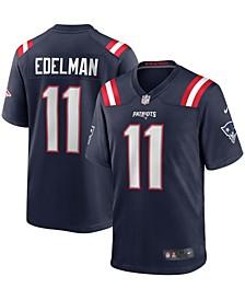 Men's Julian Edelman Navy New England Patriots Game Jersey