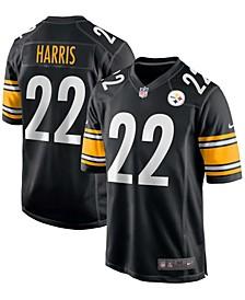 Men's Najee Harris Black Pittsburgh Steelers 2021 Draft First Round Pick Game Jersey