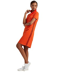 Athleisure-Inspired Polo Dress