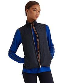 Full-Zip Quilted Vest