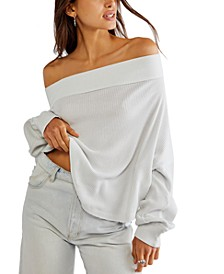 Close To Your Off-The-Shoulder Cotton Top