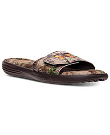 Under Armour Men's Ignite III Camo Slide Sandals from Finish Line