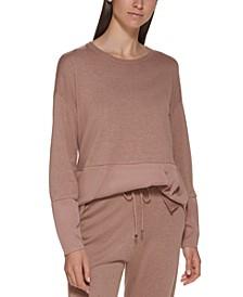 Mixed-Media Sweater