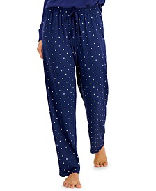 Super Soft Printed Knit Pajama Pants, Created for Macy's