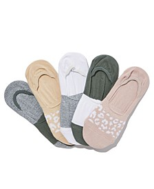 Women's Body Invisible Socks Set, Pack of 5
