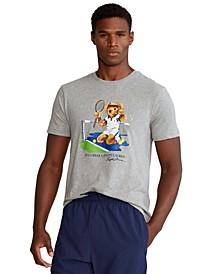 Men's US Open Custom Slim Polo Bear T-Shirt