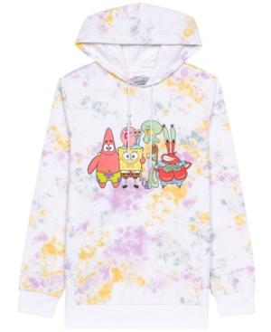 Men's Spongebob Hooded Fleece Sweatshirt