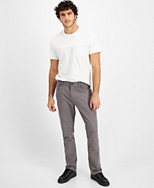 Men's Classic Fit Five-Pocket Pants, Created for Macy's