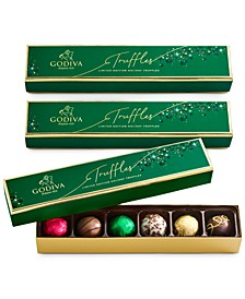 Limited Edition Holiday Truffle Flights, Set of 3