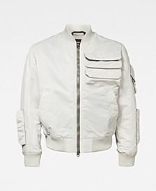 Men's Chest Pocket Bomber Jacket