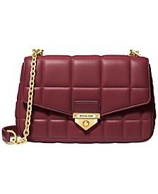 Soho Quilted Leather Shoulder Bag