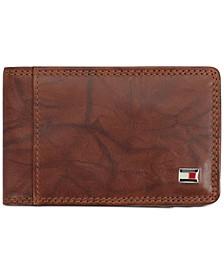Men's Huck Leather Front Pocket RFID Wallet
