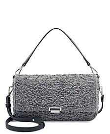 Edenne Faux Fur Shoulder Bag, Created for Macy's