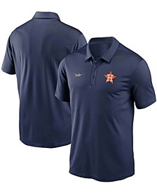 Men's Navy Houston Astros Cooperstown Collection Logo Franchise Performance Polo