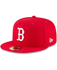 Men's Red Boston Red Sox Fashion Color Basic 59FIFTY Fitted Hat
