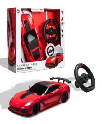 Sharper Image Remote Control Chevrolet Corvette ZR1 Toy, Set of 2