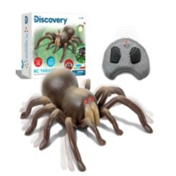 Discovery Kids Remote Control Moving Tarantula Spider Toy, Set of 2