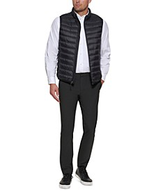 Men's Down Packable Vest, Created for Macy's