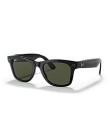 Stories Wayfarer Large Smart Glasses