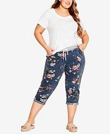 Plus Size Jenny Knit Crop Pants
