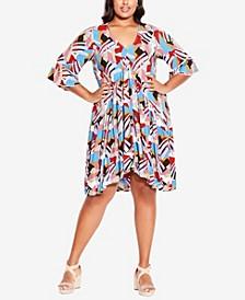 Plus Size Valencia Mini Dress