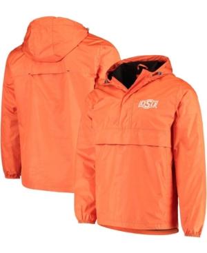 Men's Orange Oklahoma State Cowboys High Impact Hoodie Half-Zip Jacket
